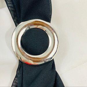 Jewelry - Silver scarf clip